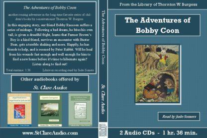 Adventures of Bobby Coon Children's Audiobook CD Set - St. Clare Audio
