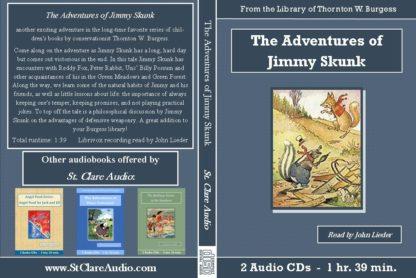 Adventures of Jimmy Skunk - St. Clare Audio