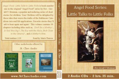 Angel Food Series: Little Talks to Little Folks - St. Clare Audio