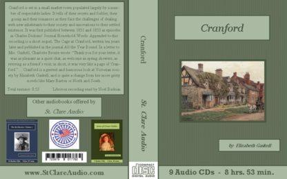 Cranford Audiobook CD Set - St. Clare Audio