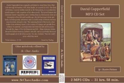 David Copperfield MP3 Audiobook CD Set - St. Clare Audio
