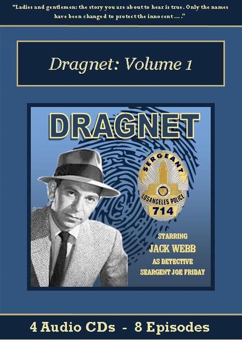 Dragnet Old Time Radio Show CD Set