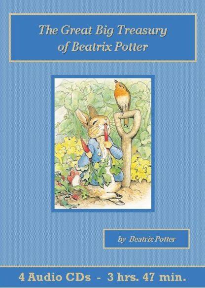 Great Big Treasury of Beatrix Potter Audiobook CD Set - St. Clare Audio