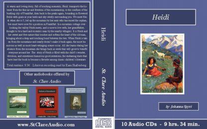 Heidi Audiobook CD Set - St. Clare Audio