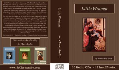 Little Women Classic Unabridged Audiobook CD set - St. Clare Audio