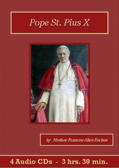 Pope St. Pius X Catholic Audiobook CD Set - St. Clare Audio
