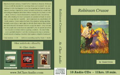 Robinson Crusoe Classic Action Adventure Audiobook CD set - St. Clare Audio