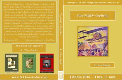 Tom Swift in Captivity Audiobook CD Set - St. Clare Audio